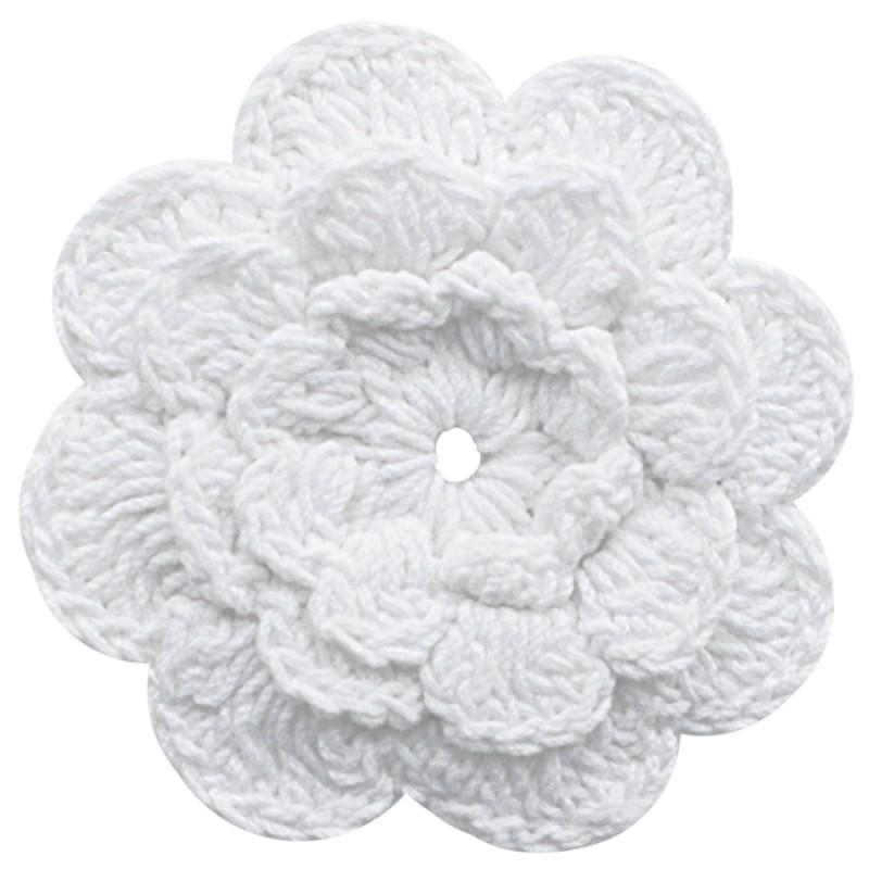 crochery flowers